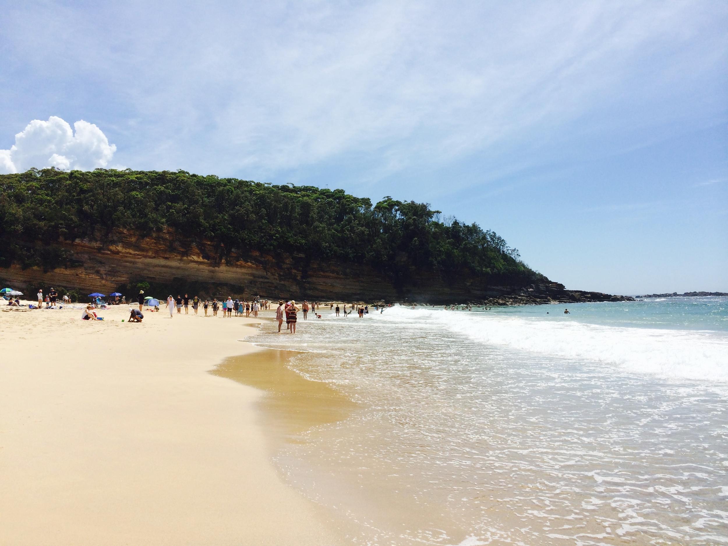 Narrawallee Beach - South Coast NSW Australia
