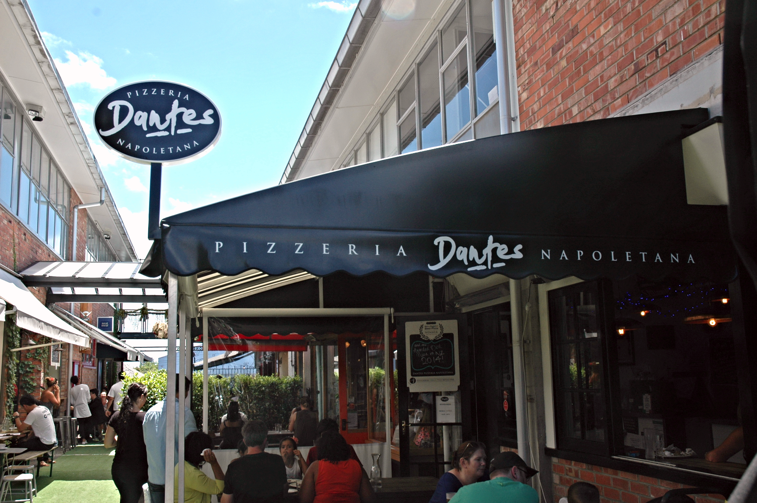 Dantes Pizza Aukland New Zealand