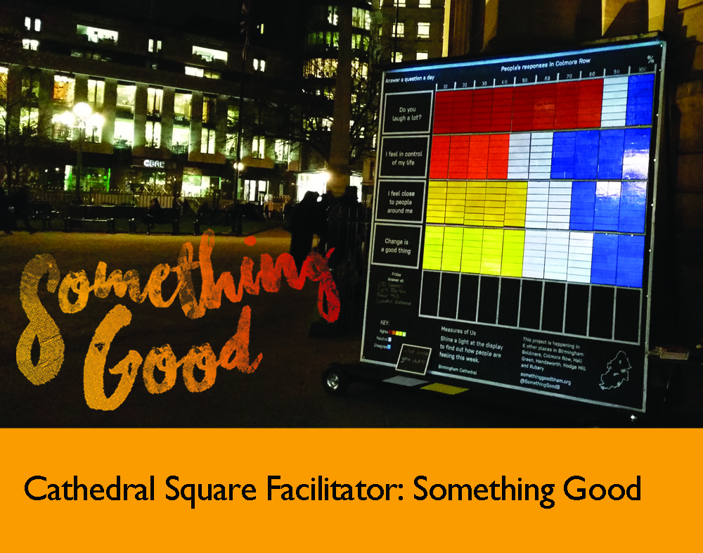 Facilitator, Cathedral Square: Something Good 2016 December 2016