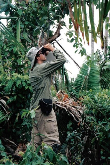 Travis Steffens in Belize