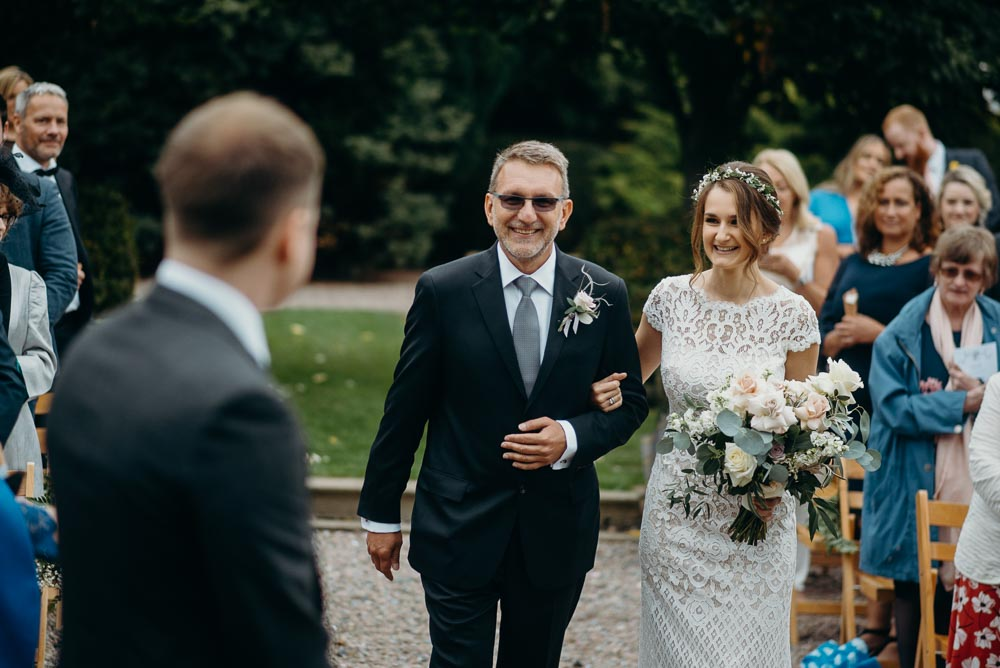 larchfield estate wedding photos