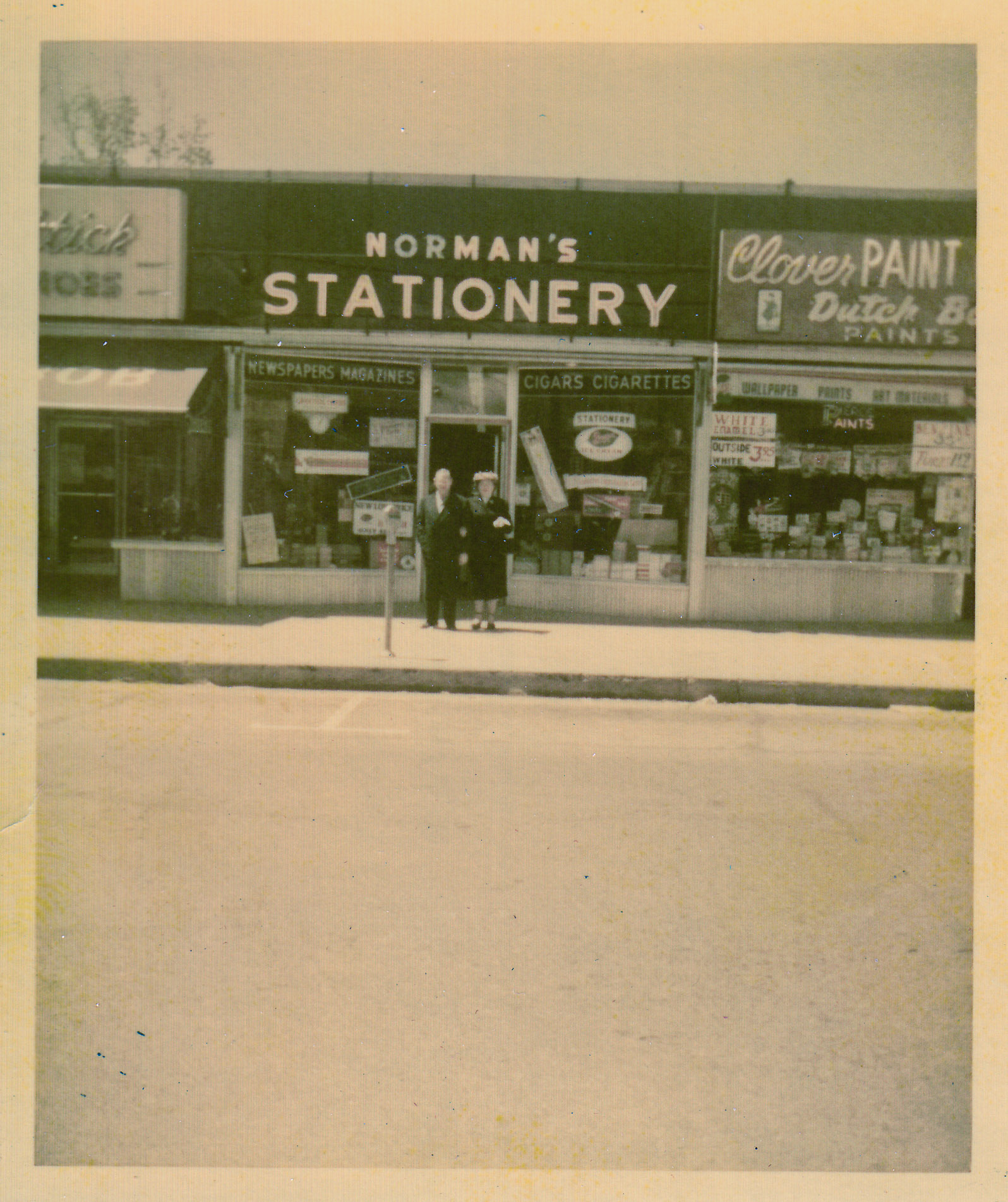 Ben and Fay (Farmingdale Store) - Spring 1954
