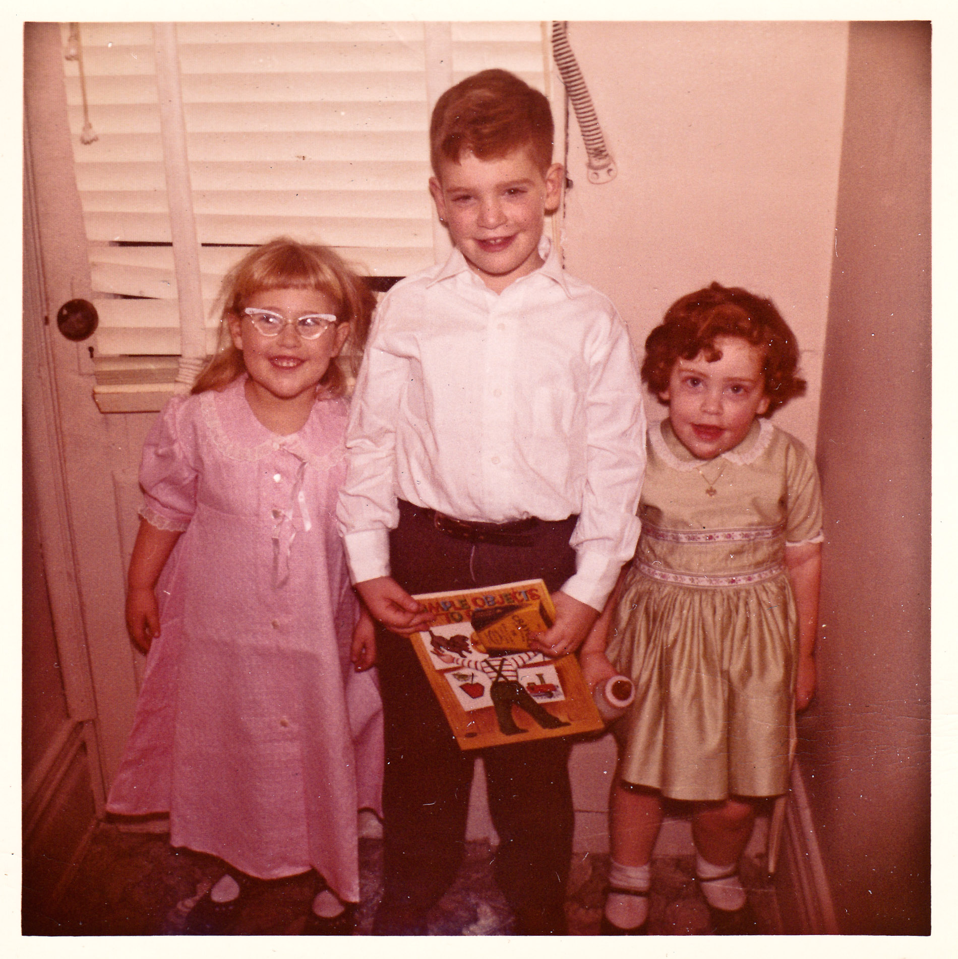 Shelley, Doug, Jodi - Jan 10, 1960 (Shelley's Birthday)