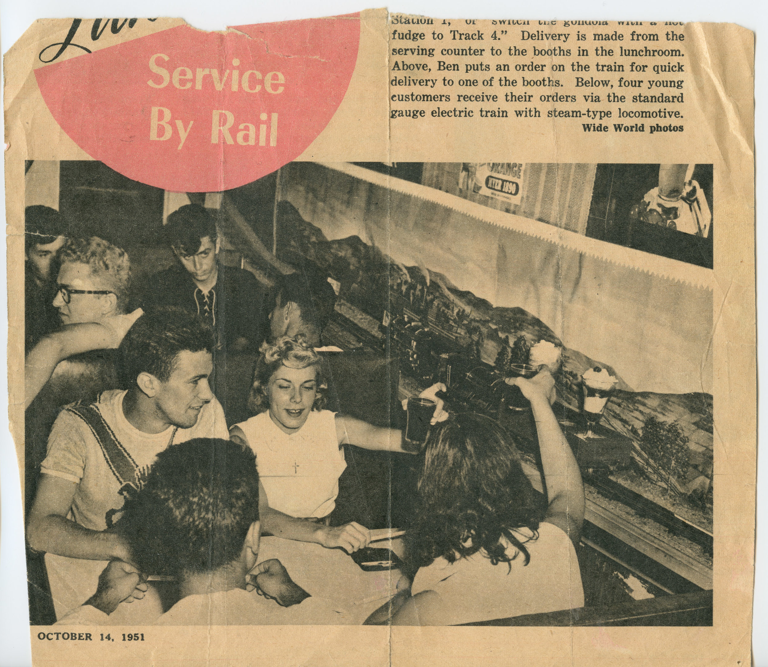 Luncheon By Rail