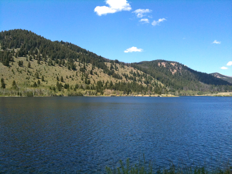 Kelly Reservoir - Photo by E. C. Hathaway