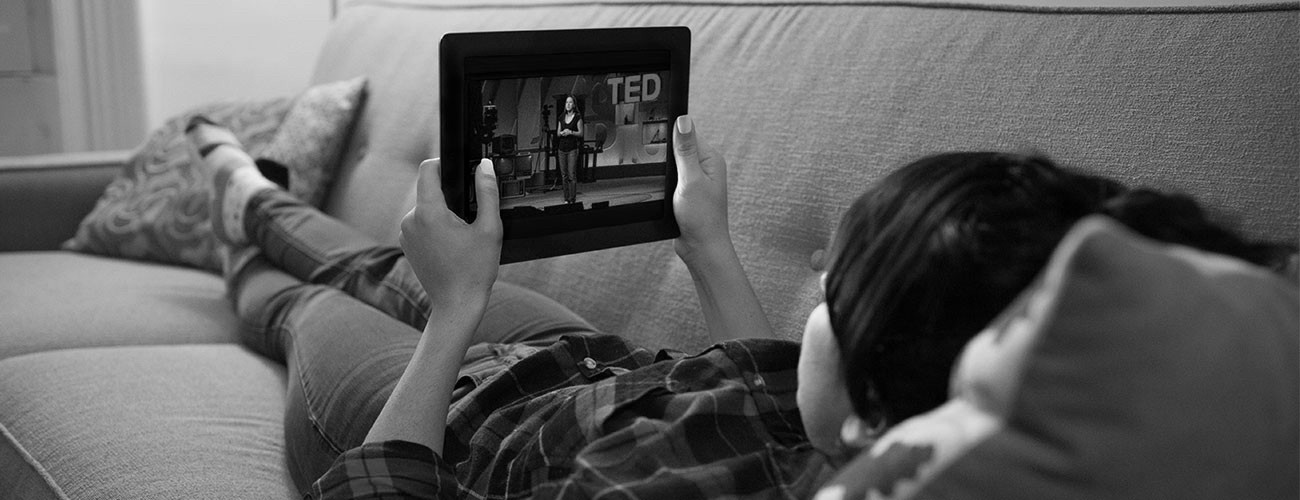 Who enjoys TED? You do.