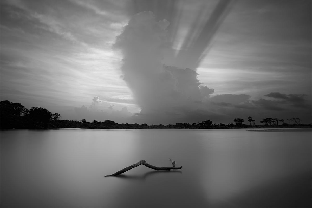 Lagoon near Arugam Bay, Sri Lanka