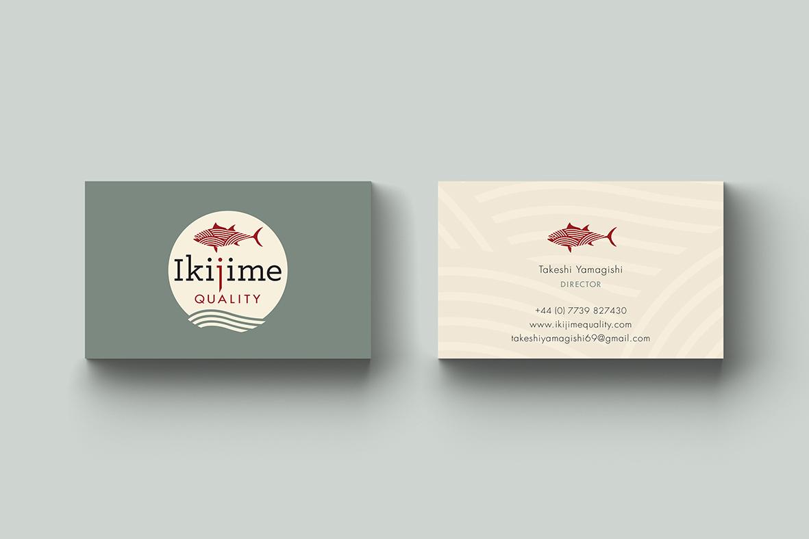 business card_ikijime