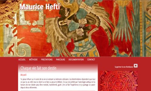 Création musicale pour le site de Maurice Hefti, le Chaman blanc ...