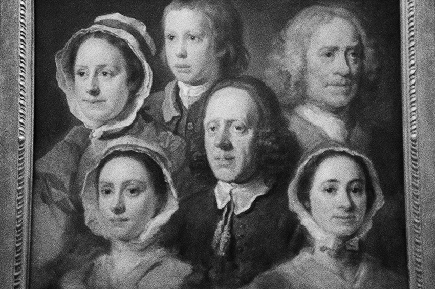 """Heads of six of Hogarth's servants"" by William Hogarth, Tate Britain, London, 2015"