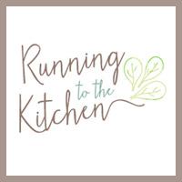running to the kitchen
