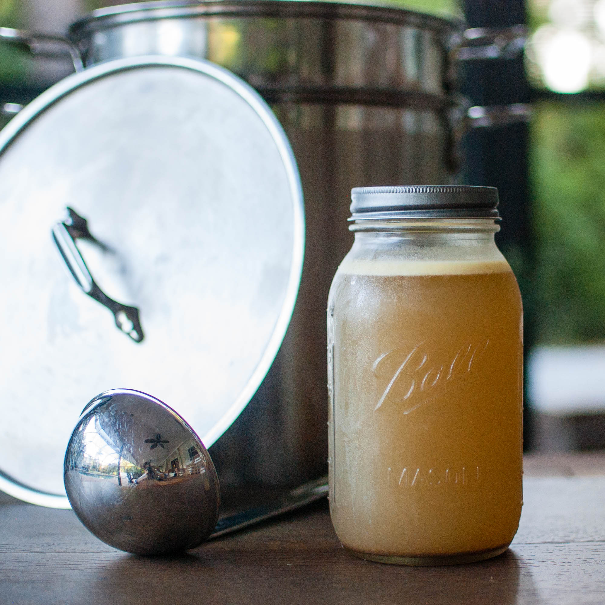 easy bone broth -
