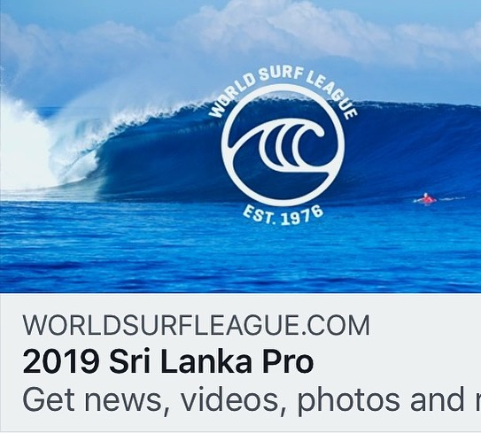 25-29th September #arugambay #wsl #srilankapro #surfing  @elephantroad_surfcamp