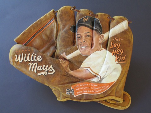 Sean Kane Baseball Glove Art