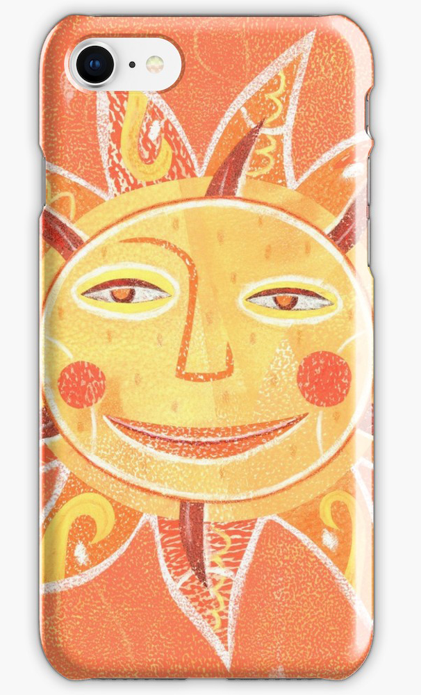 Ray Play Sun iphone case >