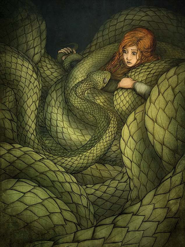 The Tale of Tam Linn: The Snake Hissed