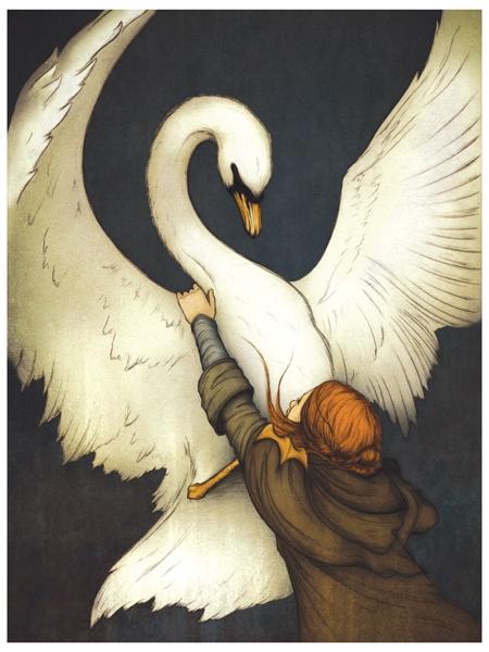 The Swan's Wings Beat