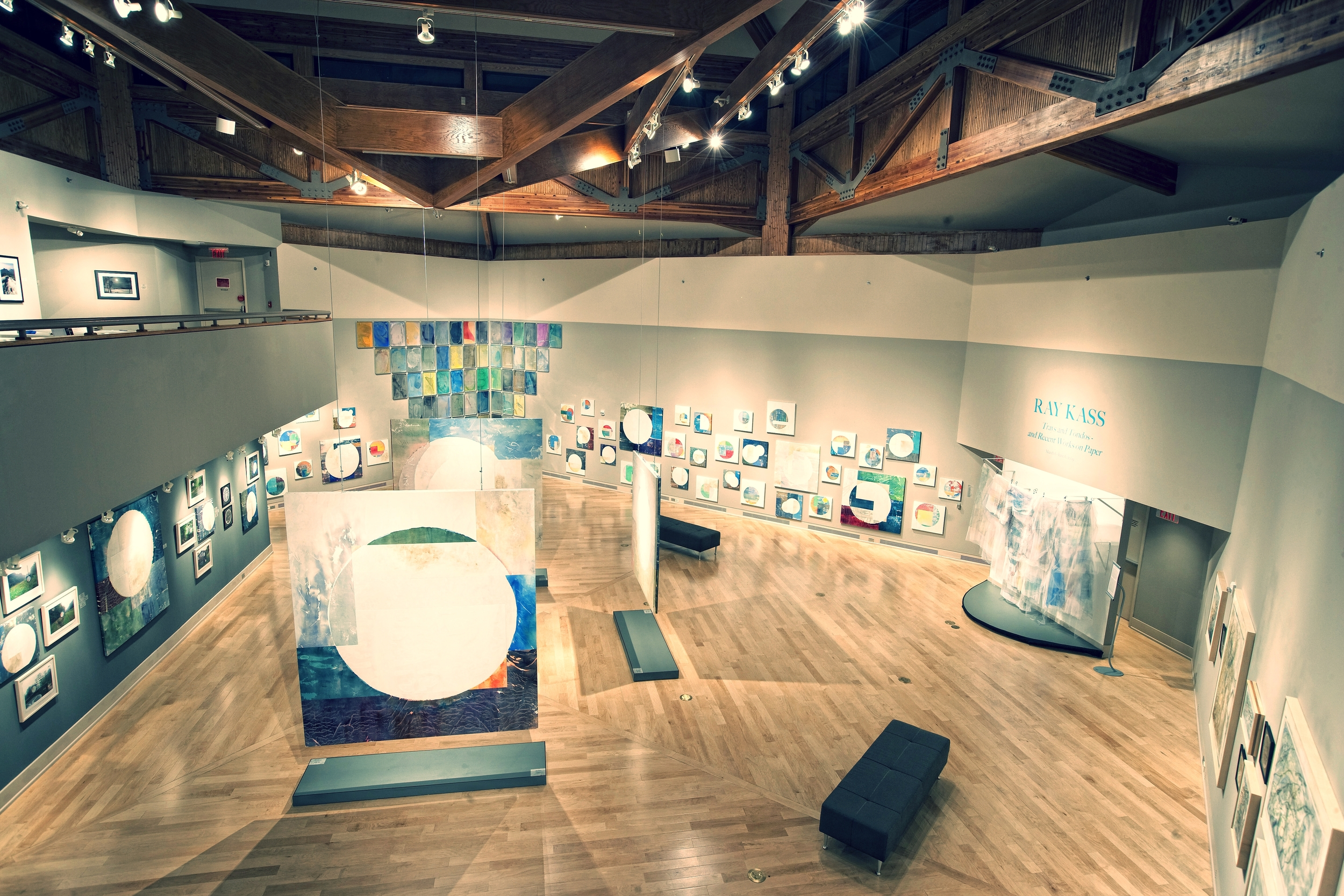 Kass exhibition installed at the Turchin Art Center PHOTOGRAPH: APPALACHIAN STATE UNIVERSITY, BOONE, NC, 2009