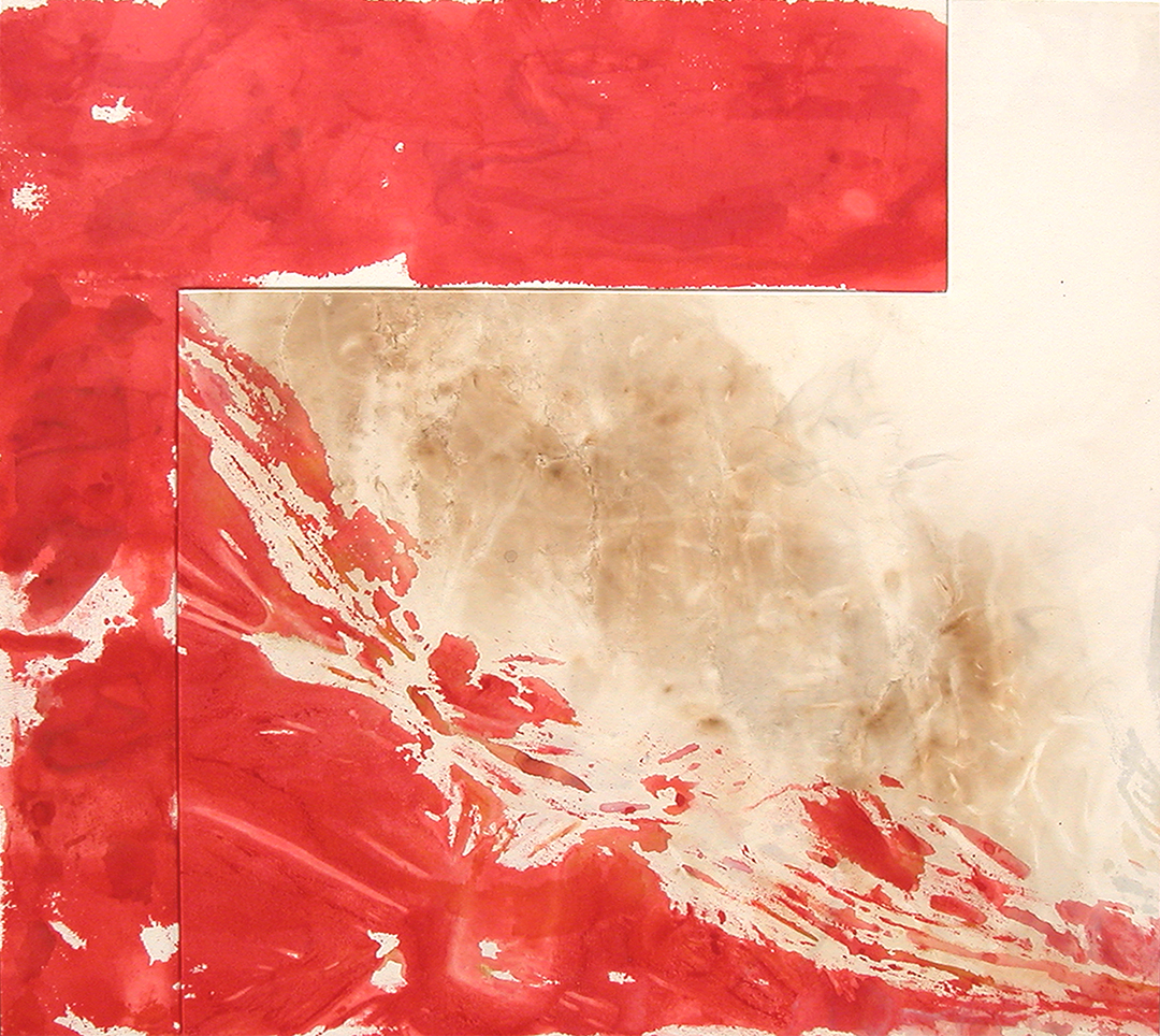 Red Rover Polyptych, 2 Panel, 2003