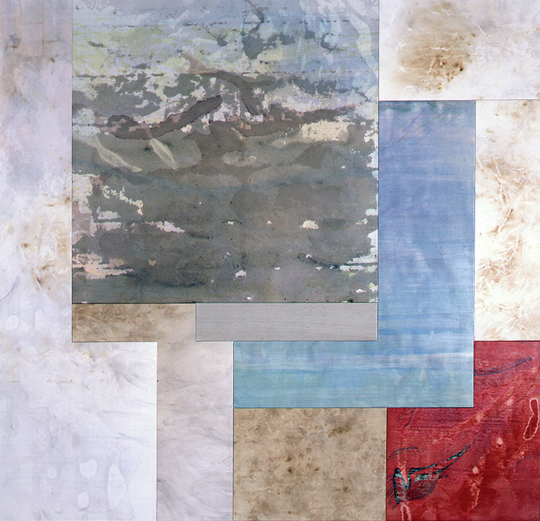 """Borrowed View – Periplum (""""Chatwin"""" Polyptych), 10 Panel, 8 – 12/2000"""