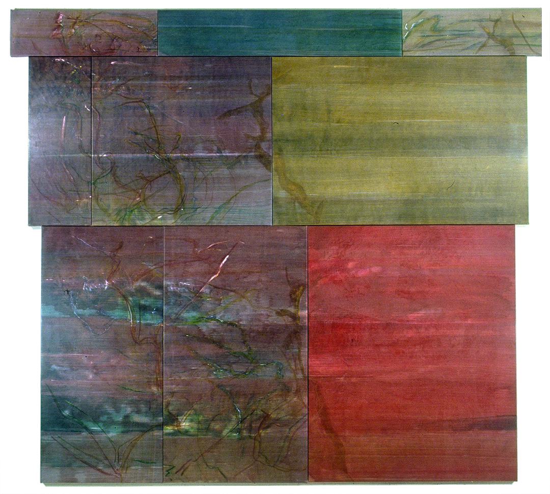 Untitled Polyptych 04, 9 Panel