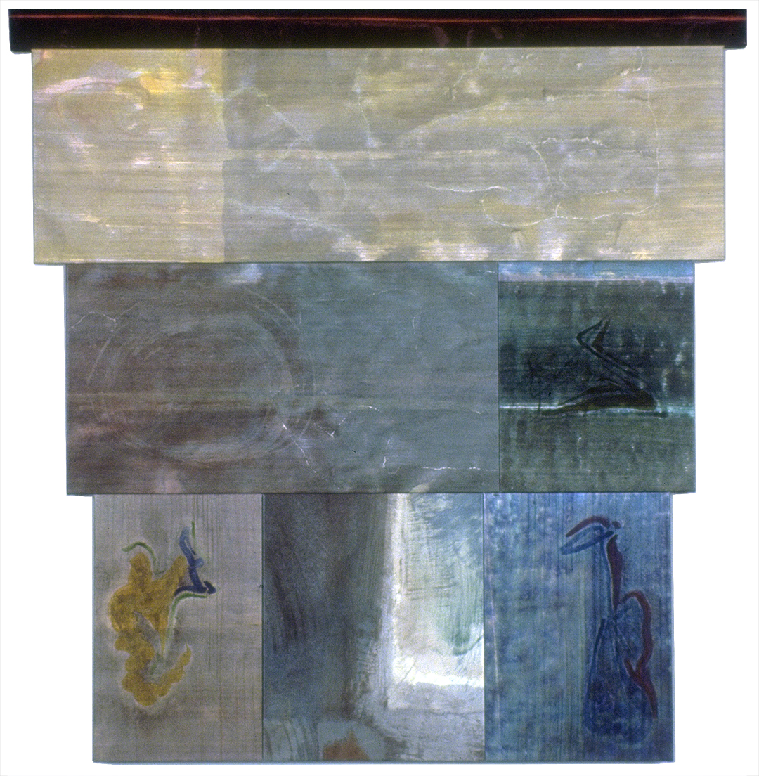 Untitled Polyptych 08, 7 Panel