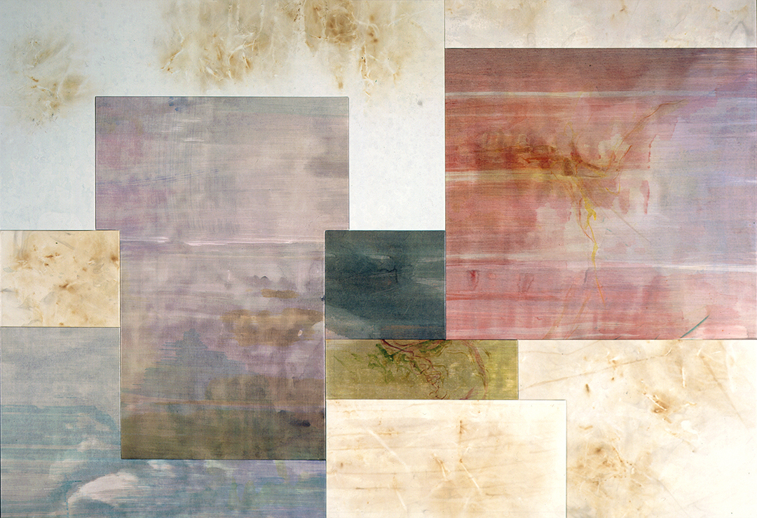 """Borrowed View – Periplum (""""Song-line"""" #3 Polyptych), 10 Panel, 12/2000"""
