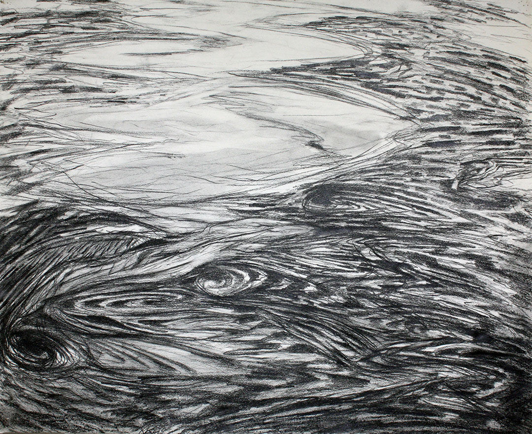Study of Eddying Water, Piscataqua River, Portsmouth, NH, 1972