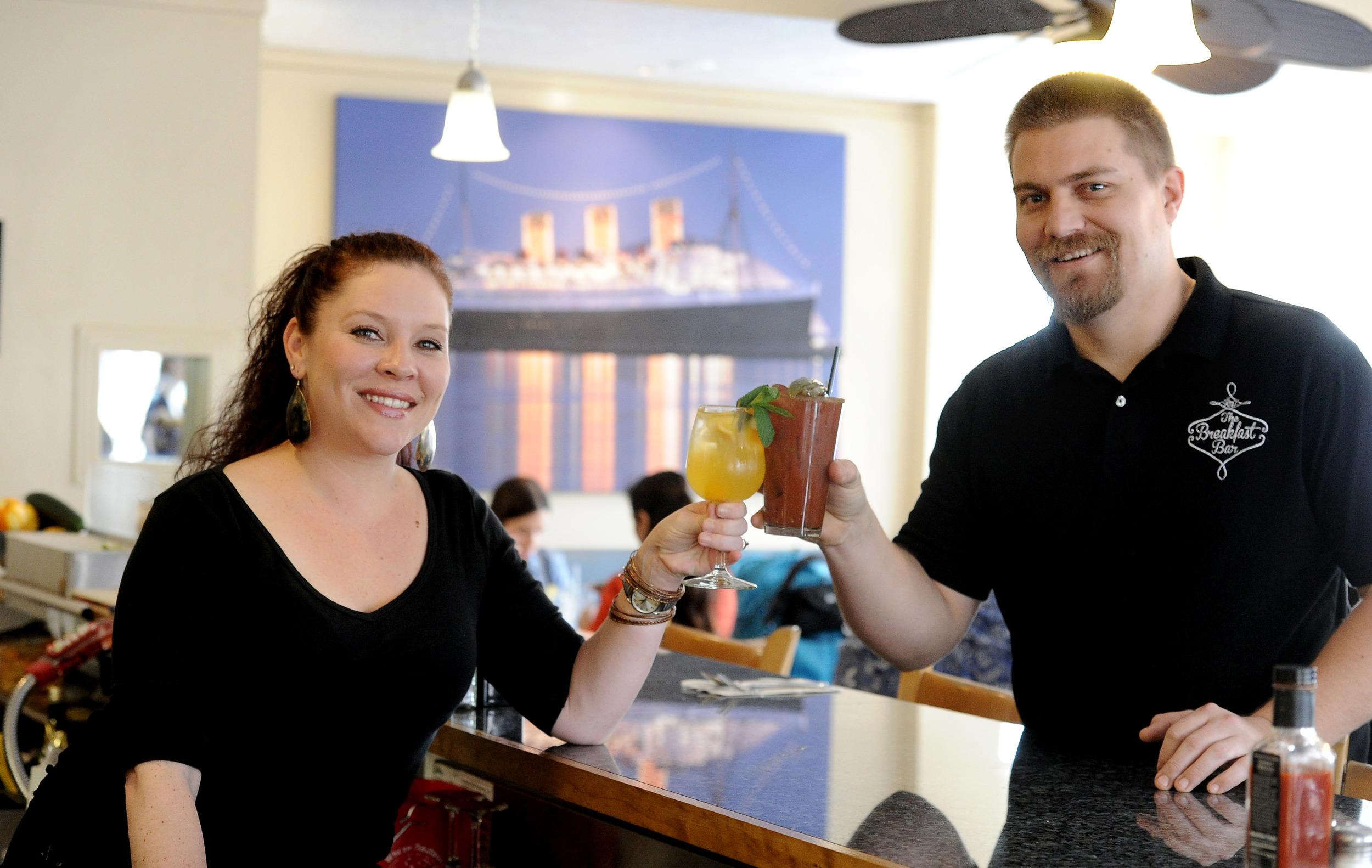 Photo of the owners, Joshua and Pamela Beadel courtesy of  Press-Telegram