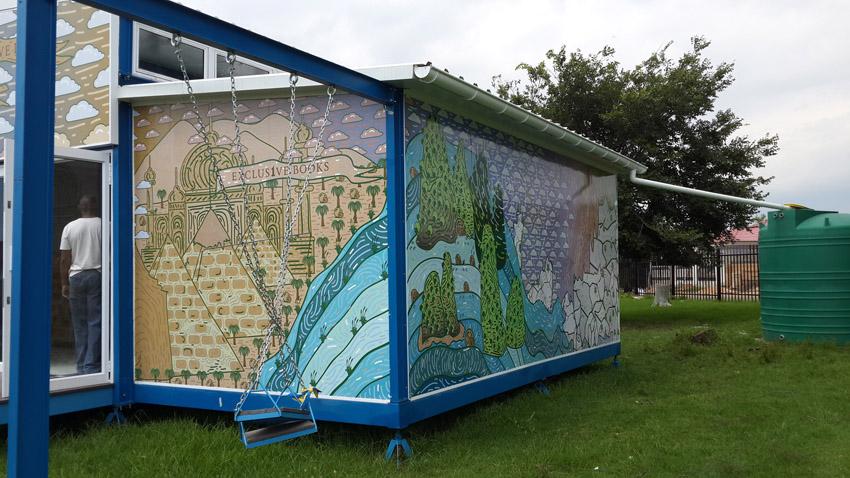 RAIN water storage