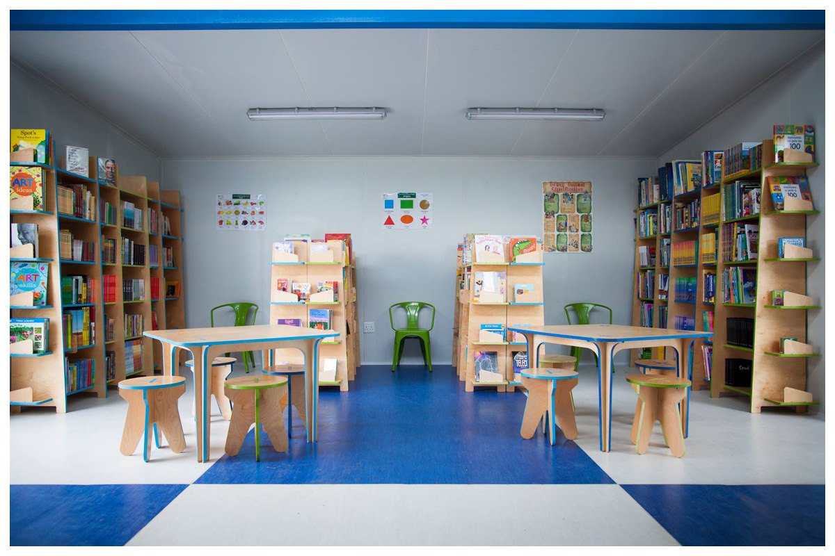 TSHEBIDISANDO PRIMARY SCHOOL  /  MICROSEED LIBRARY / SOWETO
