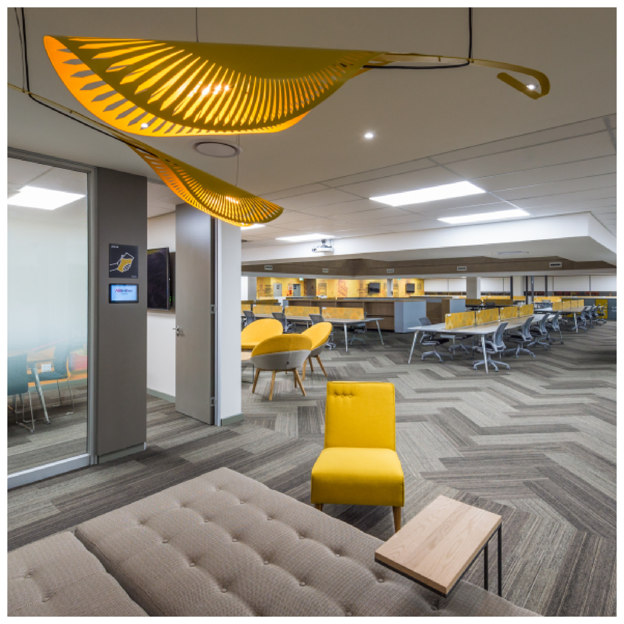 CLIENT:  I4C (Interiors for Change)  // WHERE: AB InBev Sandton