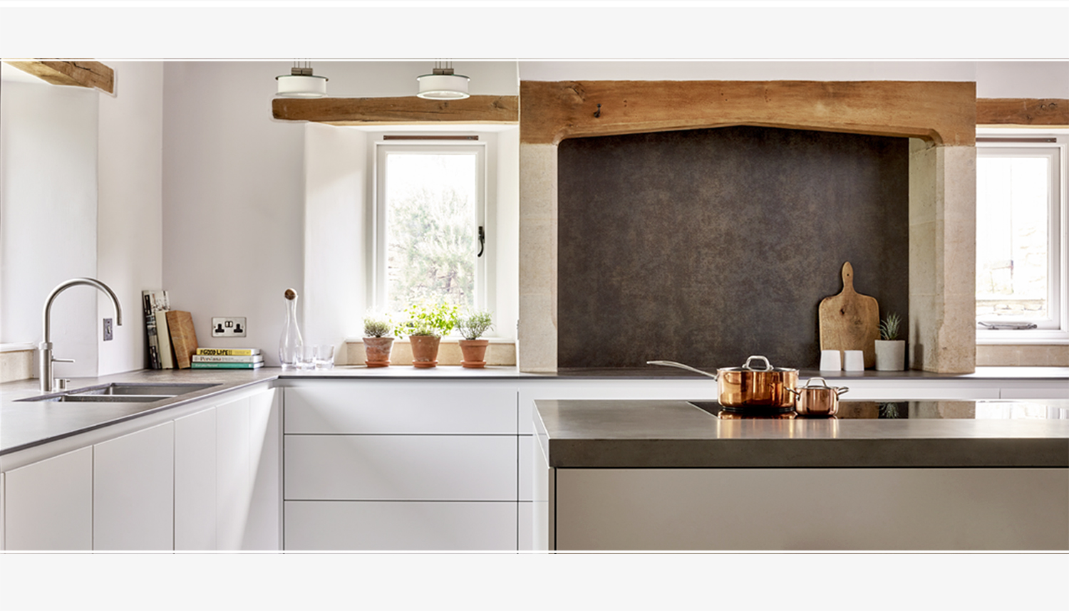 Modern Industrial Kitchen | Ashley, Wiltshire