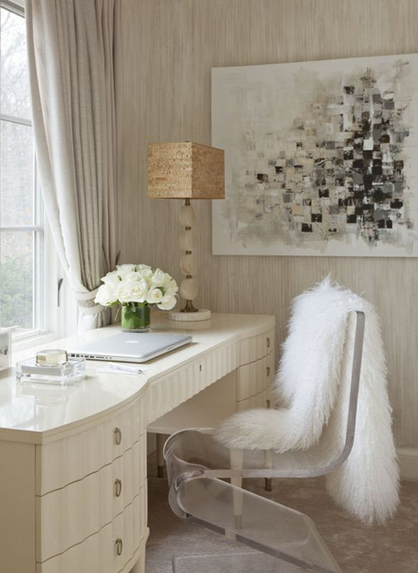 shop the look: the glamorous feminine vanity & desk...
