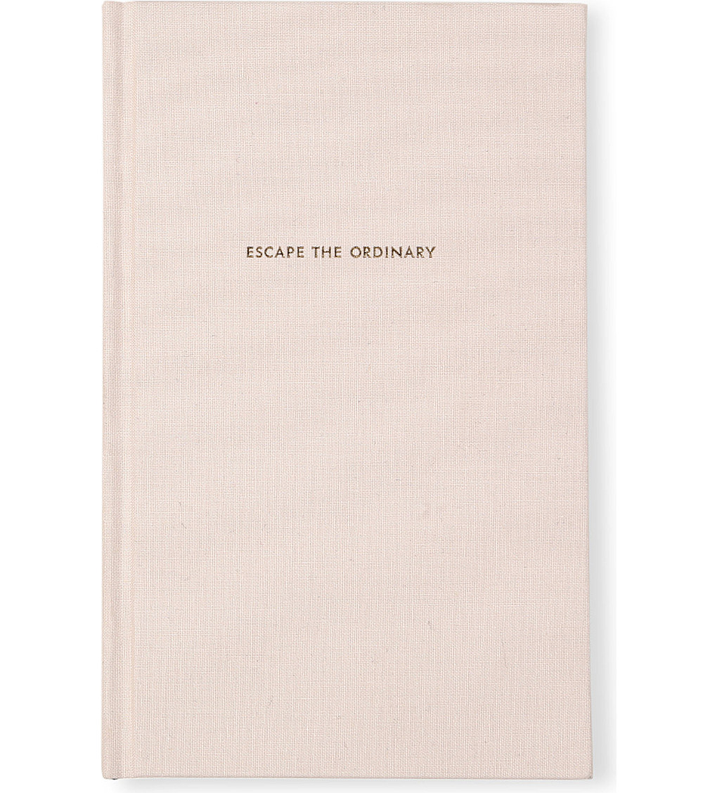 "Kate Spade ""Escape the Ordinary"" Journal $26"