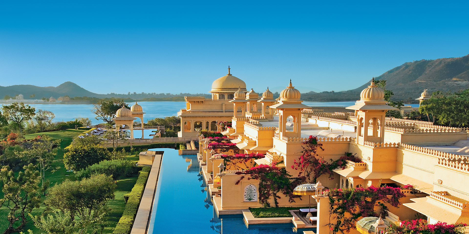 The Oberoi Udaivilas Pool