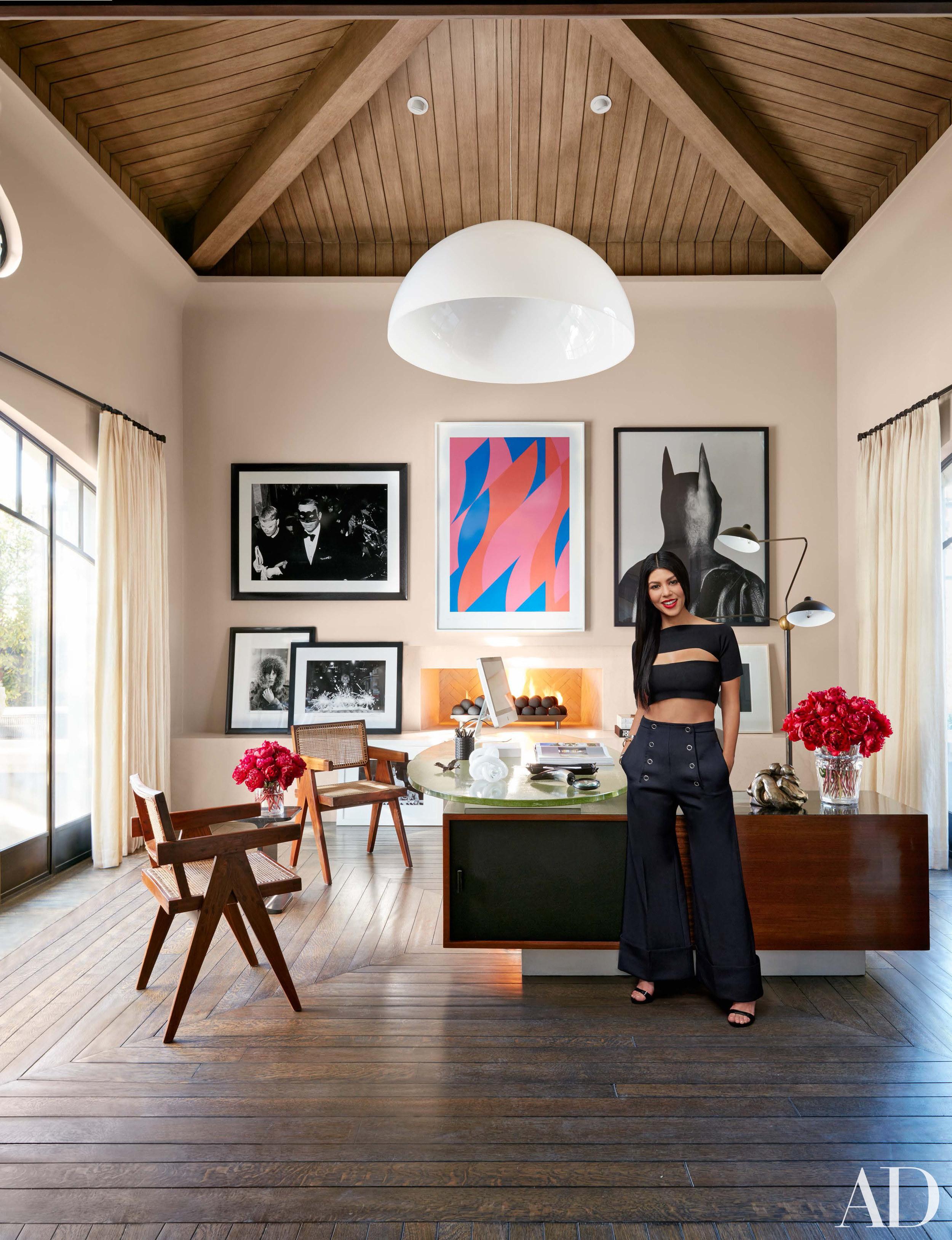 Celebrity Living Kourtney K S Family Friendly Modern Home Franki Durbin