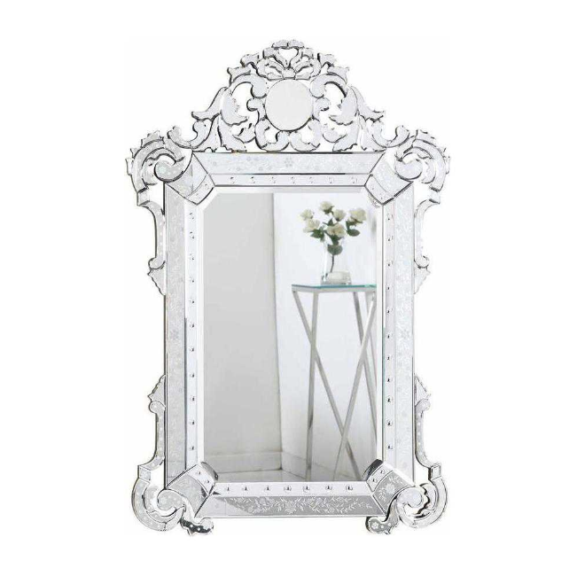 6. A Room Brightening Mirror - One of the best designer tricks is the use of mirrors to