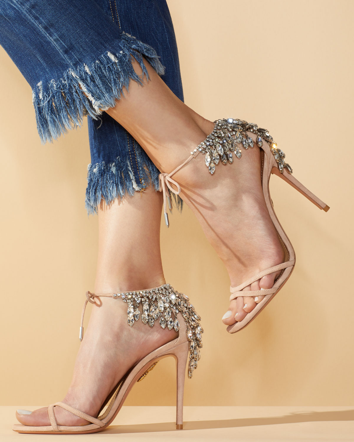 Lovng these bejeweled Sandals!