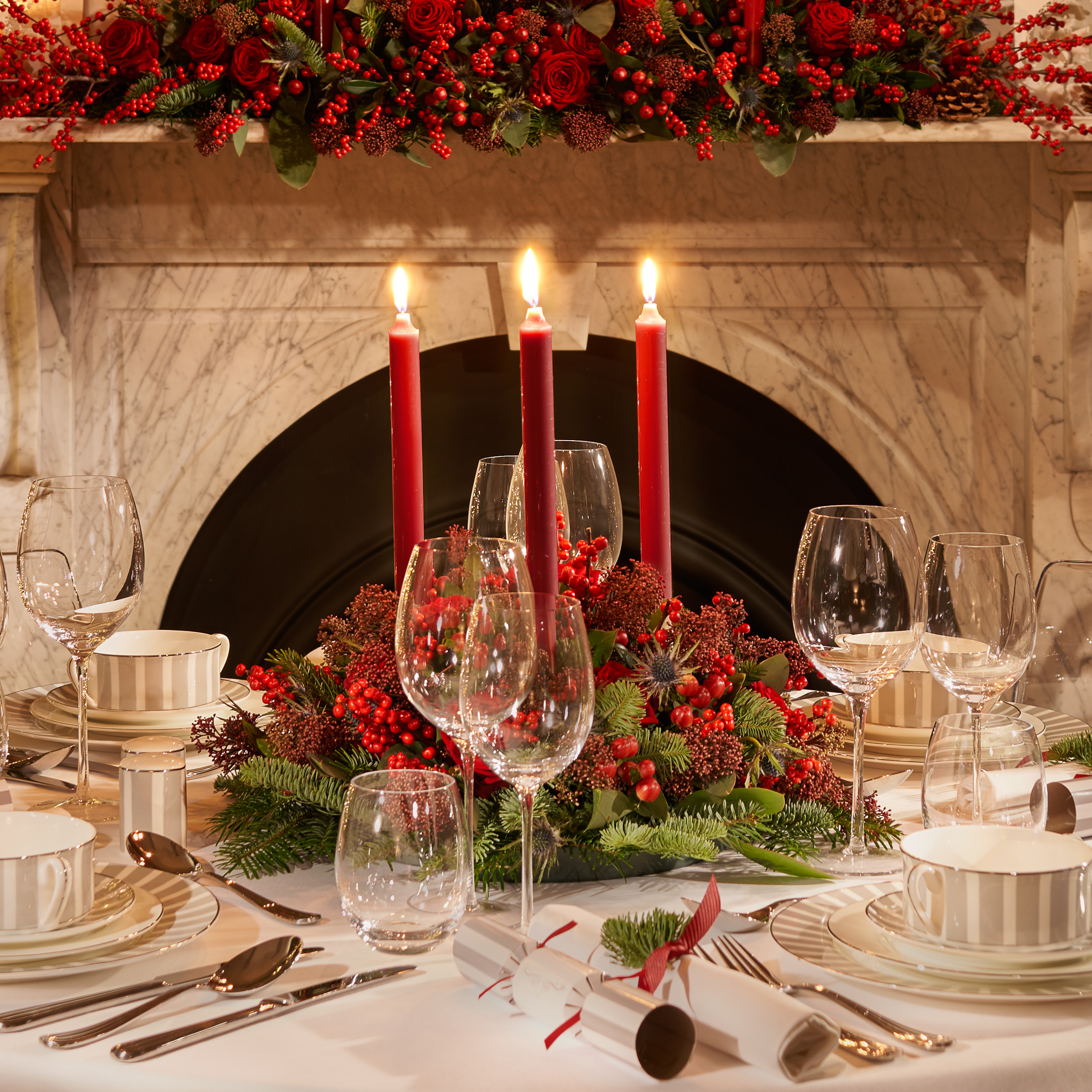 Dining Table Setting Red Candles Close Up 2400px.jpg