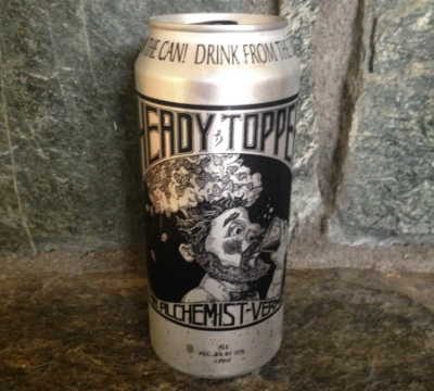 This is Heady Topper, the holy grail of beers.