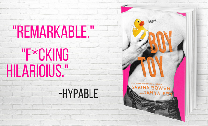 Boy Toy by Sarina Bowen & Tanya Eby has an August 14th publication date.