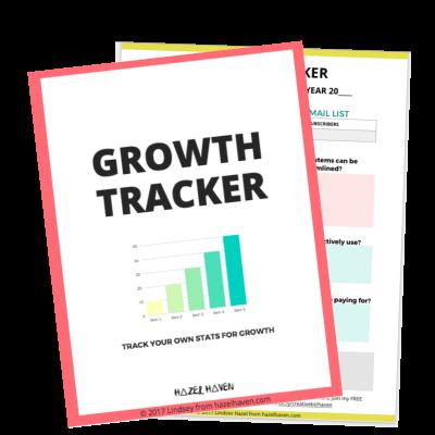 Grab your free growth tracker! hazelhaven.com