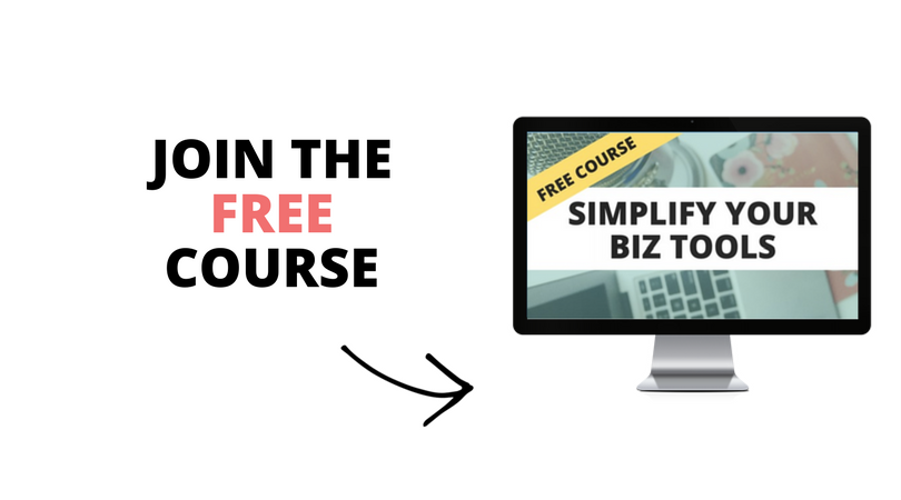 Enroll in the free course Simplify Your Biz Tools http://bit.ly/sybt