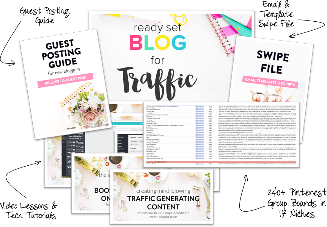 Online courses that I have taken and recommend https://twinsmommy.com/course/rsb-traffic/