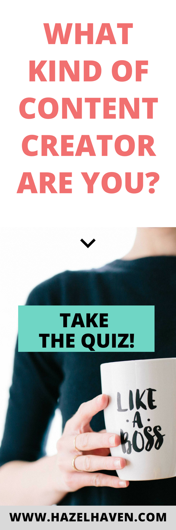 You know you want to create more content but you're not quite sure where to start..find our your content marketing style with this free quiz! #contentmarketing #blogger #onlinemarketing #entrepreneurship