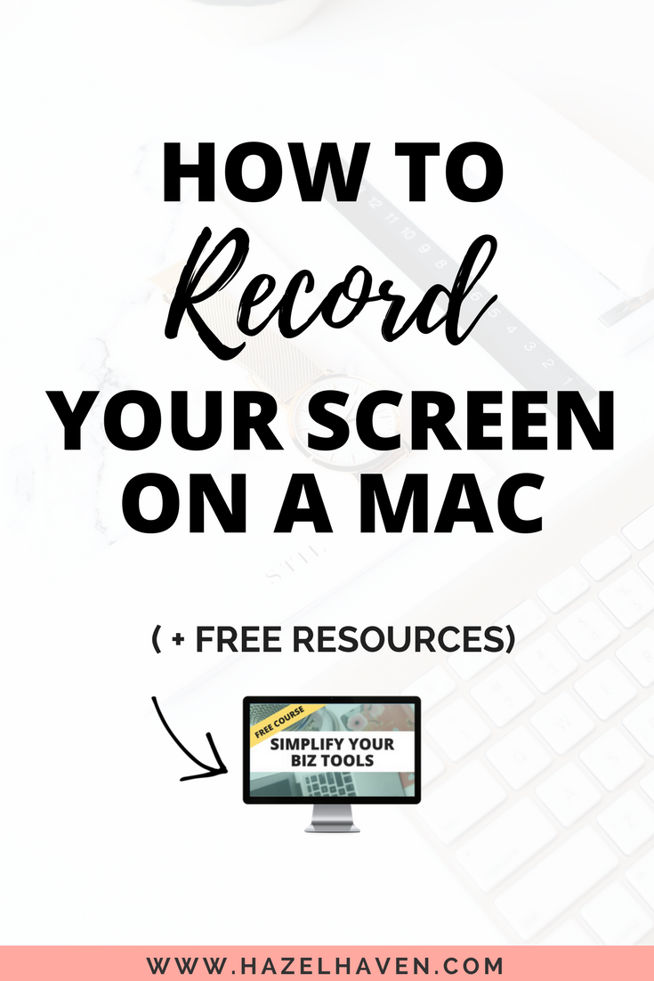 How to Record your screen on a mac (2018) #screencasting #mactutorial #onlinebusiness #blogging #entrepreneurtips