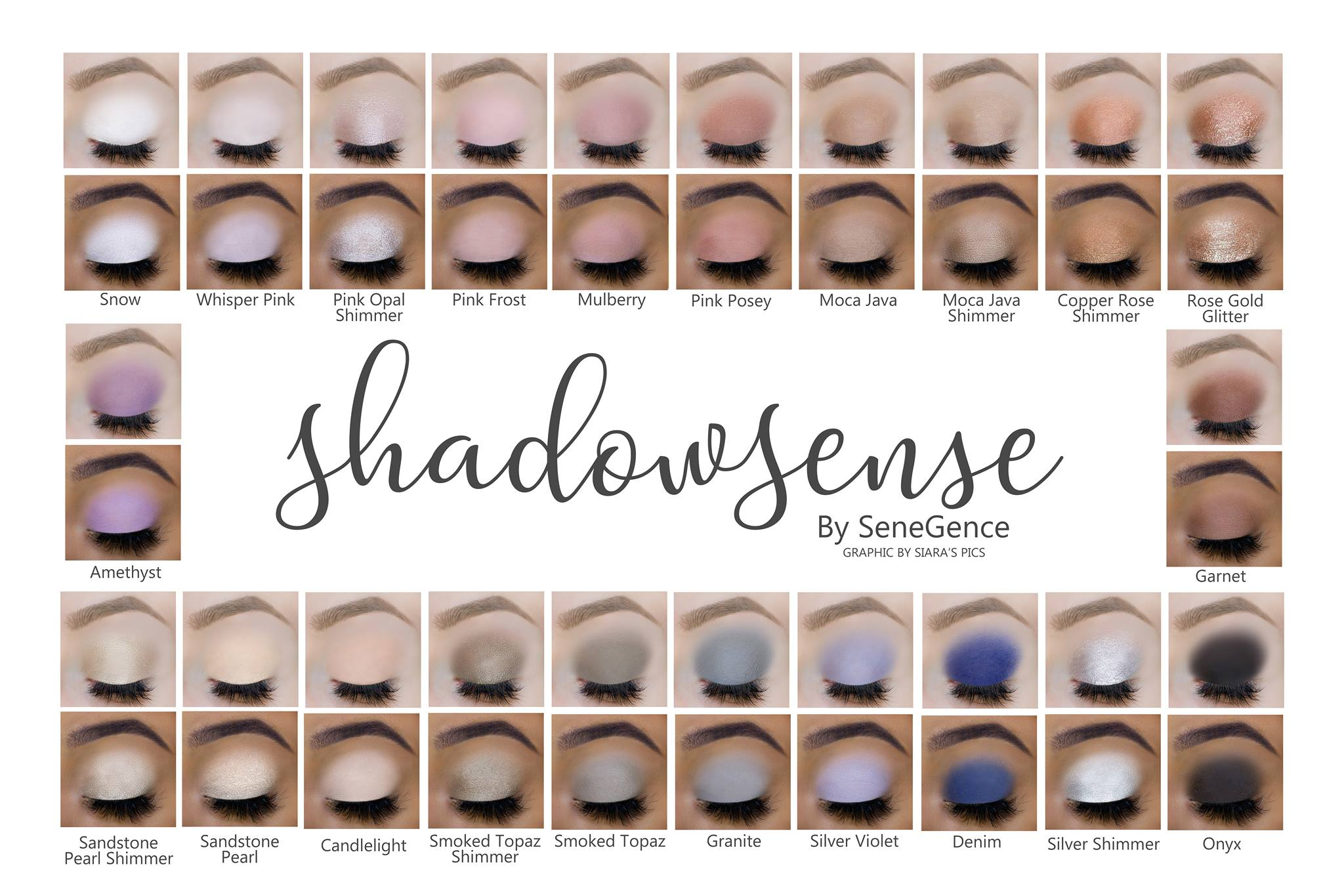 Shadowsense collage #shadowsense #senegenceshadows #senegence