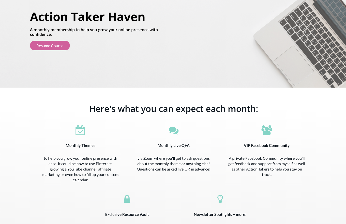 The Action Taker Haven