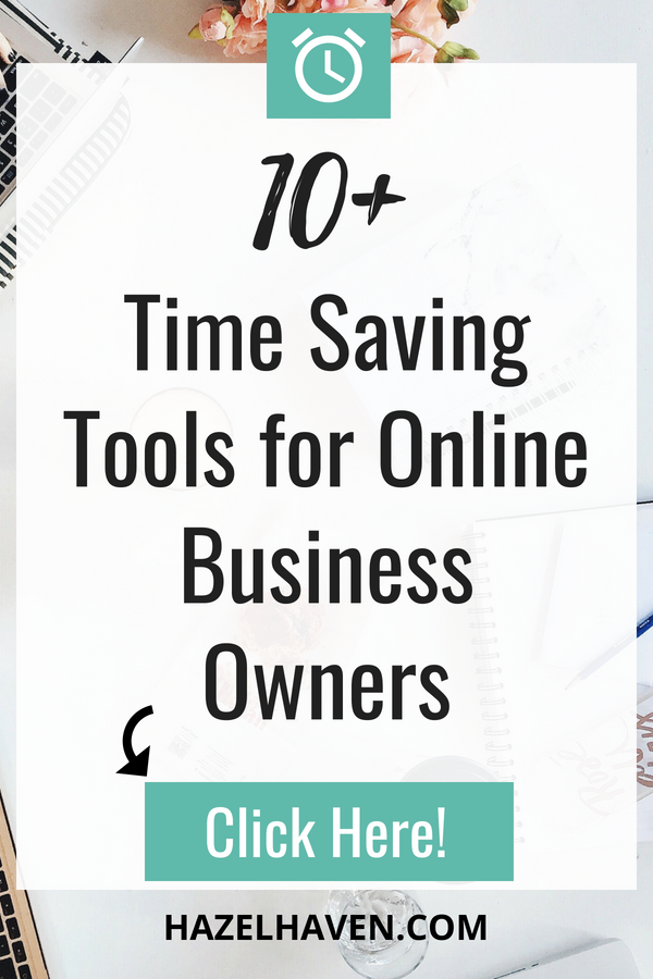 Check out my favorite tools that I regularly use for  hazelhaven.com !